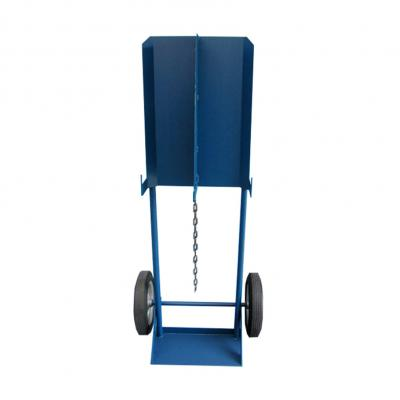 Pauwels flessenwagen 2 x gasfles 50L - veiligheidsschot
