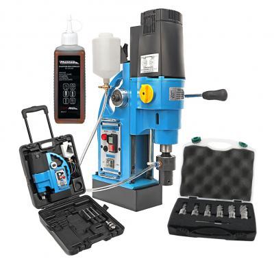PAUWELS magneetboormachine met koelmiddel en kernboorset