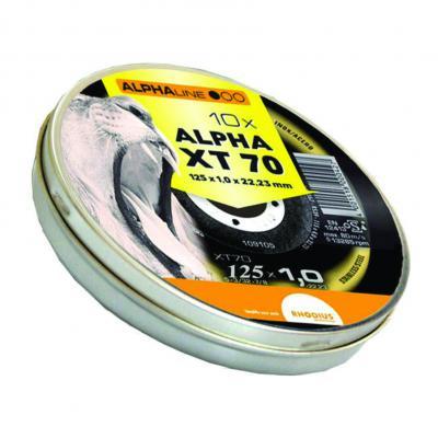 RHODIUS ALPHALINE XT70 box snijschijven