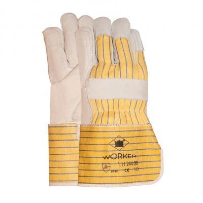 Werkhandschoen geel