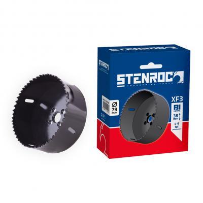 Bi metalen gatzaag XF3 STENROC  4-6 TPI metaal, hout en PVC
