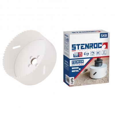 8% Cobalt  SK8 STENROC gatzaag metaal, hout en PVC
