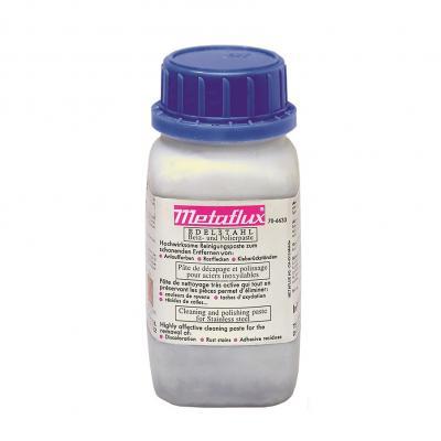 METAFLUX beits en polierpasta voor edelstaal